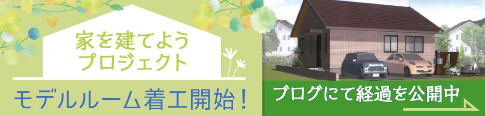 家を建てる前に、お金のプロにまず相談!家を建てようプロジェクト モデルルーム建築決定!建築記念個別相談無料受付中です